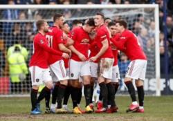 Manchester United se mete entre los 16 mejores del torneo. No tuvieron piedad con el Tranmere Rovers de la League One y los aplastaron en la cuarta ronda.