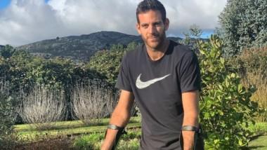 El equipo de Juan Martín confirmó que habrá una nueva intervención en la rodilla derecha.