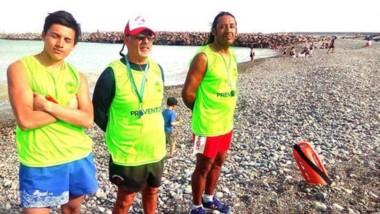 Preparados. El muncipio entrenó a un grupo para que cuide una zona muy sensible de Playa Unión.