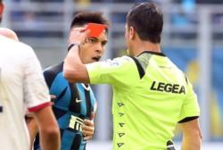 Lautaro Martínez se pierde el Derby de Milan. Ha sido sancionado con dos partidos, por lo tanto se perderá el partido contra Udinese y Milan.