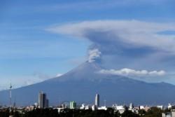 El volcán es uno de los más monitoreados del mundo y también es uno de los más peligrosos y que amenaza más de 26 millones de personas.