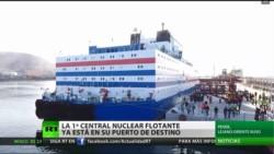 Rusia ya construyó su primera central nuclear flotante que entró en operación.