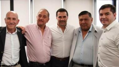 Ávila estuvo acompañado por el ex intendente de Comodoro Linares.