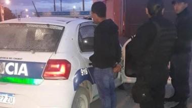 La persecución policial comenzó en pleno centro de la ciudad de Trelew