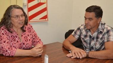 A dos voces. Saunders y Alonso explicaron su posición frente a la ordenanza más importante para Esquel.