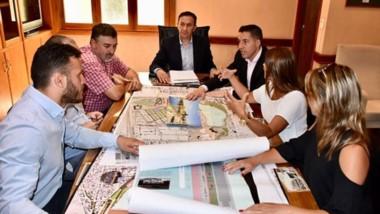Datos. Una postal del encuentro en el que el municipio detalló la idea que tiene para renovar el sector.