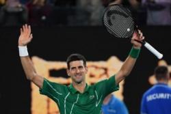 Sigue sin perder sets. Novak Djokovic es finalista por octava vez en Australia.