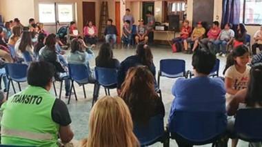 Fue un primer encuentro del SOEME con contratados del Municipio para escuchar a los trabajadores.