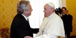 Alberto Fernández y el Papa Francisco mantuvieron un diálogo profundo y distendido en su primer encuentro oficial