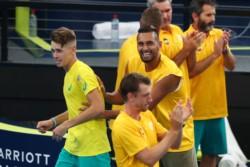 Con la victoria de Alemania a Grecia, Australia aseguró su presencia en los cuartos de final de la ATP Cup.