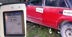 El conductor no contenía la documentación que acredite la propiedad del vehículo, por lo que el auto fue retenido.