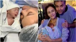 Luciana Aymar fue mamá por primera vez y presentó a su hijo con una tierna foto.