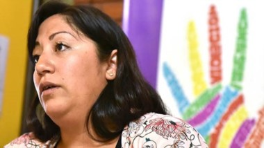 Referente. Llancafil explicó cómo se plantea el escenario sobre violencia de género para este año en Trelew.