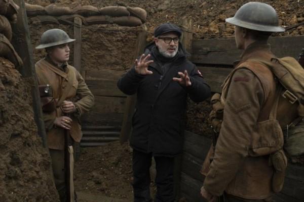 Sam Mendes recibió el premio a Mejor Director por 1917.