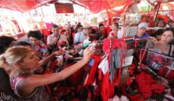 Esperan 300.000 devotos en el santuario correntino del Gauchito Gil