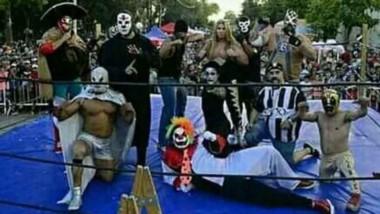 "Los ""Súper Gigantes"", conforman el primer club de Catch de Argentina."
