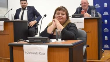 La concejal Alejandra Robledo a punto de completar su aislamiento.