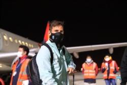 El plantel argentino con Messi a la cabeza ya está en La Paz.