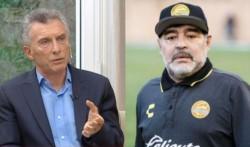 El director técnico de Gimnasia de La Plata, Diego Maradona, le respondió duramente a Mauricio Macri.