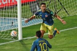 Sobre la hora, Colombia se llevó un puntazo de visitante con un gol de Radamel Falcao.