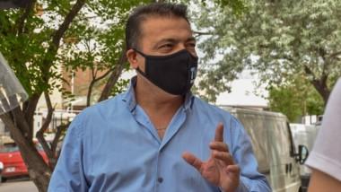 Barbijo. López brindó su visión acerca de cómo la comunidad trelewense está encarando la pandemia.