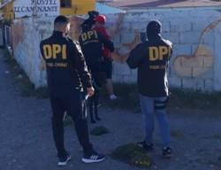 La División Policía de Investigaciones cumplió la orden de Trelew.