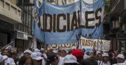 La Unión de Empleados de la Justicia de la Nación (UEJN) comenzó un paro de 36 horas en reclamo de una recomposición salarial. (Archivo)