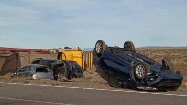 El accidente se produjo en la tarde de este jueves en la ruta 40.