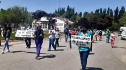Conmoción en Campo Grande por el ataque al médico. (Foto: Gentileza).