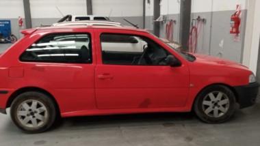 El automóvil VW Gol fue incautado ayer en un procedimiento policial. Había sido comprado hace dos meses.