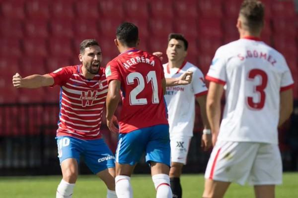 Con gol del venezolano, Yangel Herrera, el Granada se impuso 1-0 ante el Sevilla