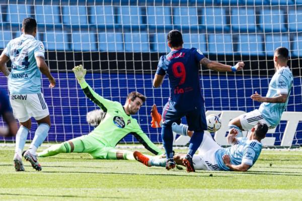 """Suarez vuelve a ser decisivo en la victoria del """"Aleti"""" y ya suma tres goles de rojiblanco."""