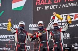 Gran tarea de Guerrieri en las competencias finales del WTCR ganando la primera y tercera carrera.