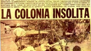 Los hippies desembarcaron en El Bolsón a principios de los '70.