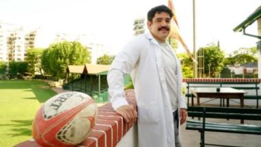 """Francisco Ferronato, rugbier y médico del Pirovano, expresó: """"El rugby es mi cable a tierra y mi estilo de vida""""."""