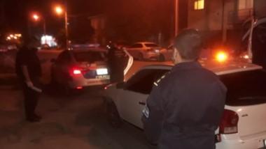 El  automóvil VW Gol fue secuestrado junto a los elementos que había en su interior. Hay cuatro detenidos.