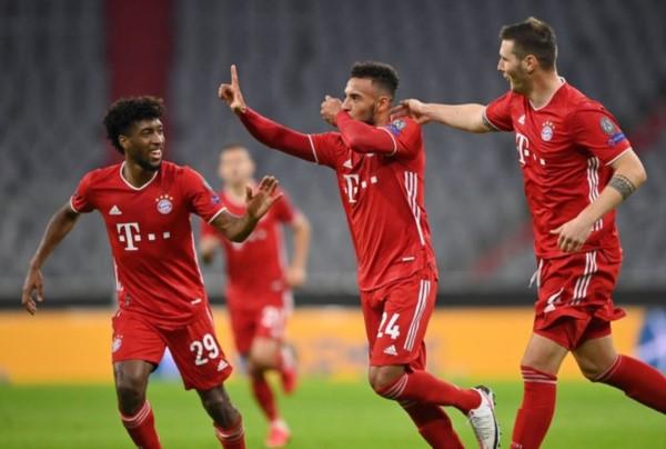 """El campeón Bayern Munich le dio una paliza al """"Aleti"""" del """"Cholo Simeone."""