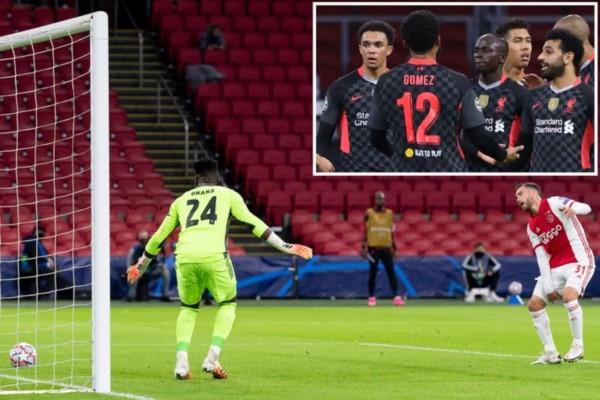 El defensor argentino del Ajax, Tagliafico, en contra, le dio la victoria a Liverpool.