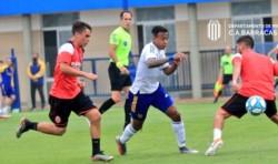 Con Villa como figura y goleador, Boca goleó a Barracas Central en un amistoso.