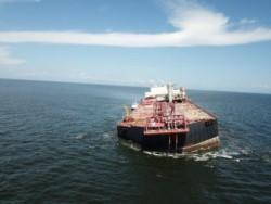 Grupos ambientalistas expresaron esta semana su preocupación por un posible derrame de los 1,3 millones de barriles de crudo .