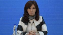 La vicepresidenta Cristina Kirchner sostuvo que