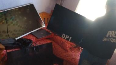 Encontraron televisores y una computadora portátil robadas