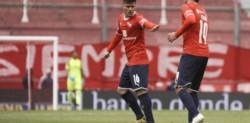 Lucas Barrios anotó el único gol del primer amistoso.