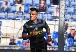 Tres goles en 3 partidos de Lautaro Martínez en el comienzo de la Serie A 2020-21.