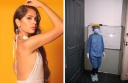 Melani Navarro Fontanet tiene 27 años y se recibió de enfermera a los 25.