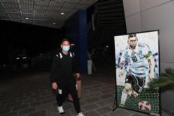 Leo Messi está en la concentración de la Selección Argentina.