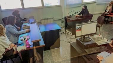 El tribunal conformado por las juezas Moreno, Pérez y Reyes declararon culpable a Oscar Romero.