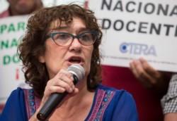 La secretaria general de CTERA, Sonia Alesso, afirmó hoy que los docentes quieren