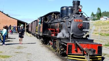 El tren  es uno de los principales atractivos turísticos de la región.