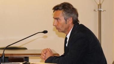 Cargos. El fiscal Francisco Arrien fundamentó acusación por el hecho de sangre.